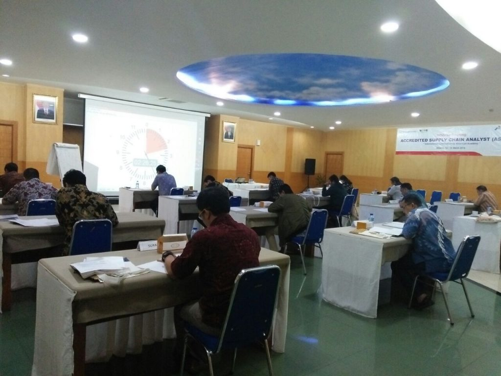 In House Training Accreditaced Supply Chain Analyst