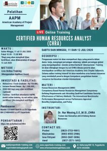 Live Online Training Certified Human Resources Analyst