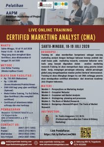Live Online Training Certified Marketing Analyst